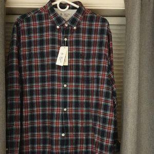 Warm flannel XL Original Penguin button up. NWT
